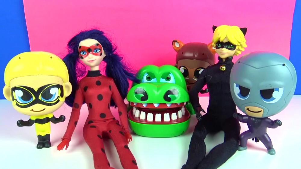 Timsah dişcide diş fırçalama oyunu ile Mucize uğur böceği ile kara kedi izle