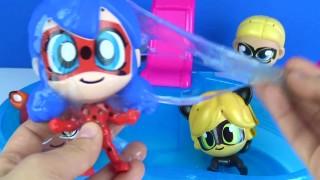 Mucize Uğur Böceği Ladybug ile Kara Kedi Slime dolu havuz tuzağına nasıl düştüler?