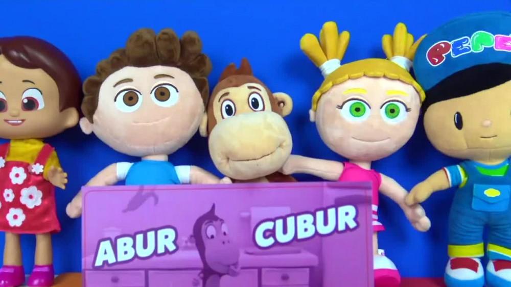 Tinky Minky ve Kukuli çizgi filmi oyuncakları ile Kukuli abur cubur şarkısı söylüyoruz.