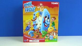Eğlenceli Çılgın Buzdolabı Learn Colors With Phil The Fridge kutu açılımı yapıyoruz.