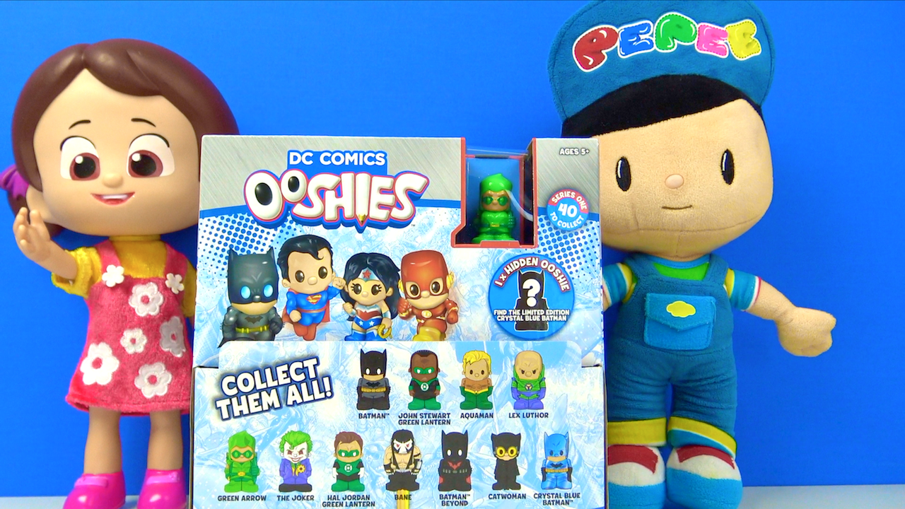 DC Comics Ooshies Challenge Niloya Pepee ile Kaç tane nadir oyuncak buluyoruz?
