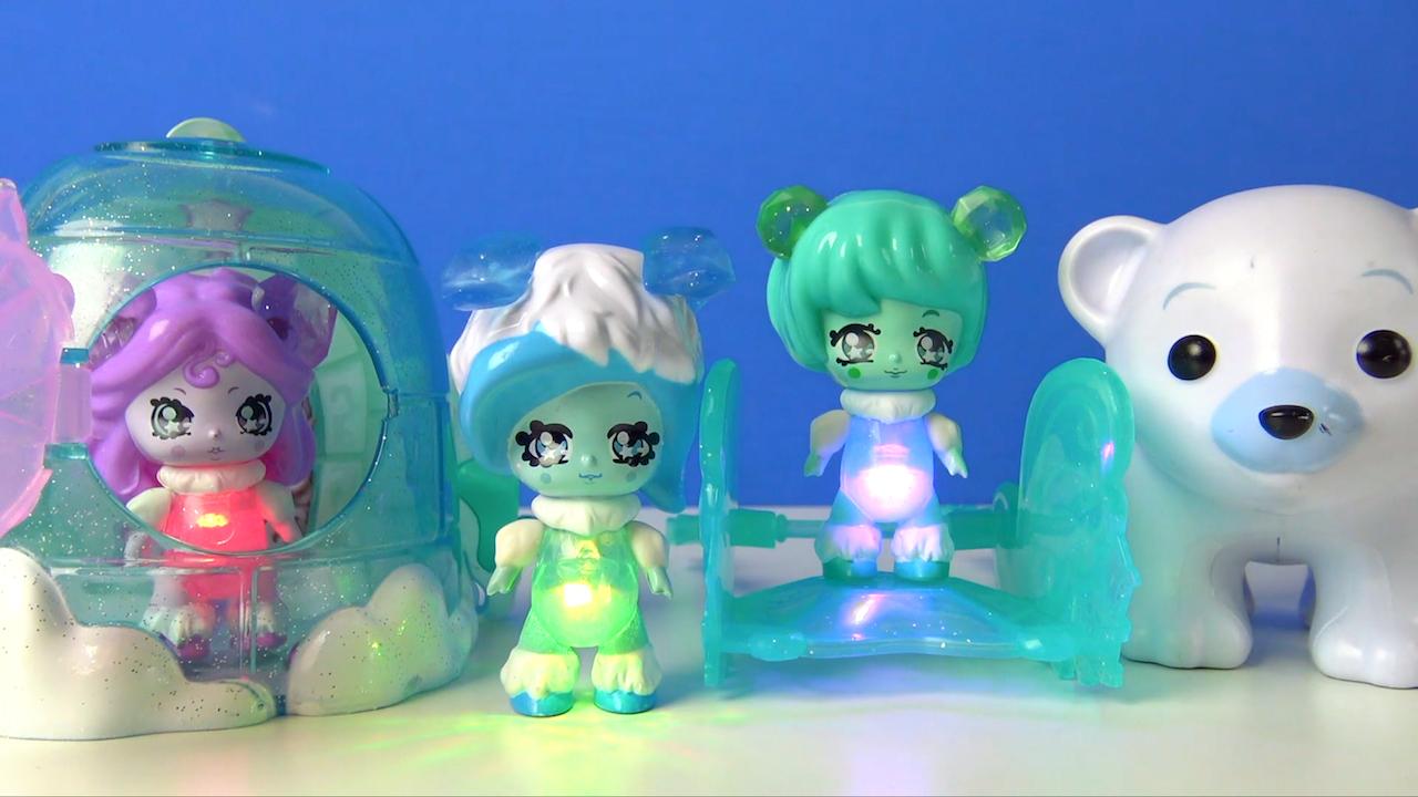 Learn Colors With Glimmies Toys-Glimmies Polaris Yıldız Perileri Üfledikçe Yanan Işıklı Oyuncaklar